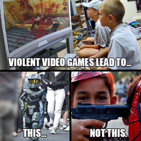 Video Games Don T Kill People Comparative Geeks