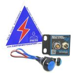 Cartek XR Solid State Battery Isolator – Kit With Blue Switches