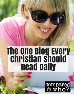 blog every christian should read