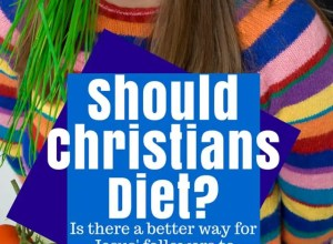 Should Christians always be on a diet? Is there a better way for Jesus' followers to live and control their weight?