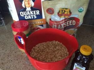 Ingredients for kid simple recipe