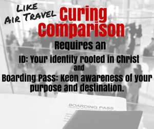 Curing Comparison Requires ID and Boarding Pass
