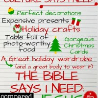 What You Really Need this Christmas