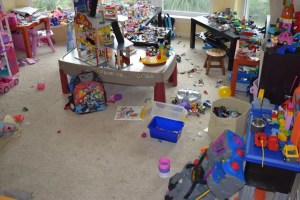 Messy Toy Room Compared to Who