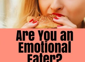 Emotional eater image of woman eating Christian body image article