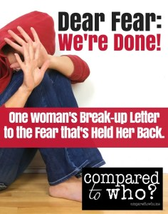 Ready to break-up with fear? This Dear Fear letter will inspire you to find freedom.