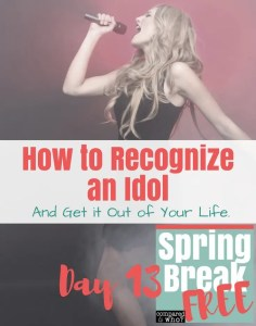 how to recognize and get rid of an idol