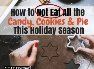 How not to eat all the candy, cookies and pie this holiday season