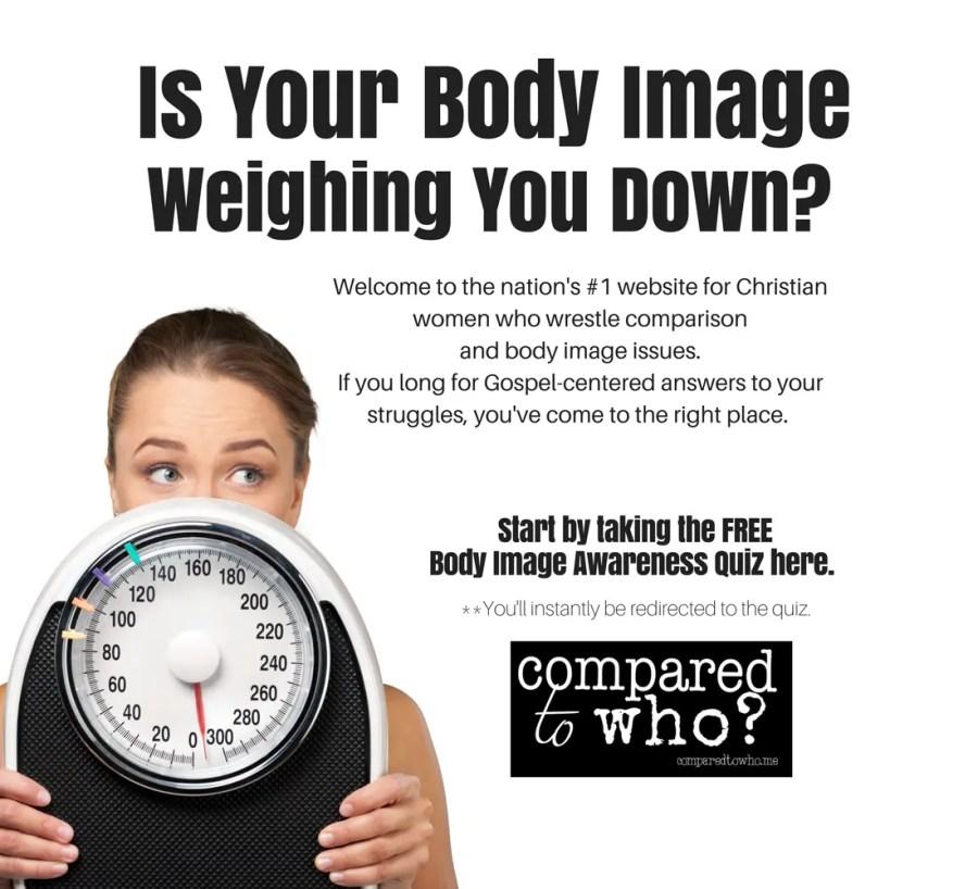 Christian Body Image quiz for women