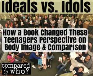 how book changed teenagers body image idol or ideal