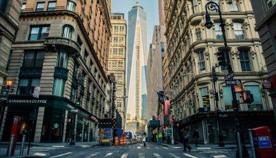 New York Street Buildings