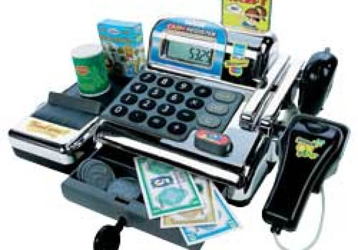 Cashier Games With Scanner For Kids
