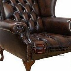 Habitat Chester Sofa Leather Pottery Barn Slipcovered Replacement Brown