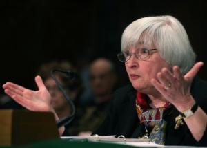 Kurs dolara (USD) zyskuje, gdy Janet Yellen wspomina o stopach procentowych w USA