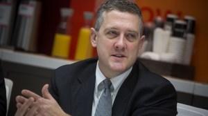 Członek FOMC, prezydent banku federalnego Saint Louis, James Bullard.  źródło: www.marketwatch.com