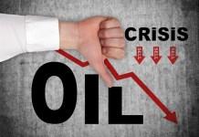 spadające ceny ropy naftowej