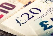 Banknot 20 funtów