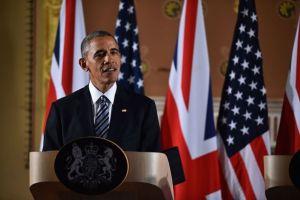 Barack Obama oraz David Cameron wspólnie odpowiadali na pytania dziennikarzy w trakcie trwania konferencji prasowej w Londynie.