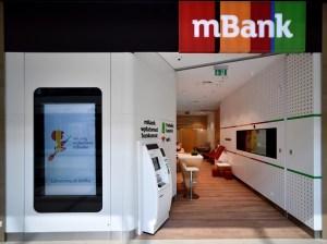 mBank najsilniejszy w indeksie mWIG40, dobry wynik sektora bankowego