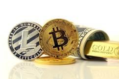 Litecoin LTC Bitcoin BTC dolar USD złoto XAU