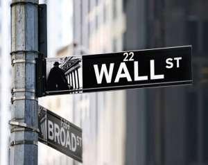 Znak drogowy Wall Street w Nowym Jorku