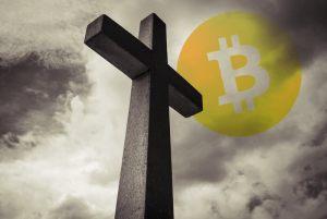 """Bitcoin bliski rozrysowania """"krzyża śmierci"""". Czy kurs BTC/USD czekają dalsze spadki?"""