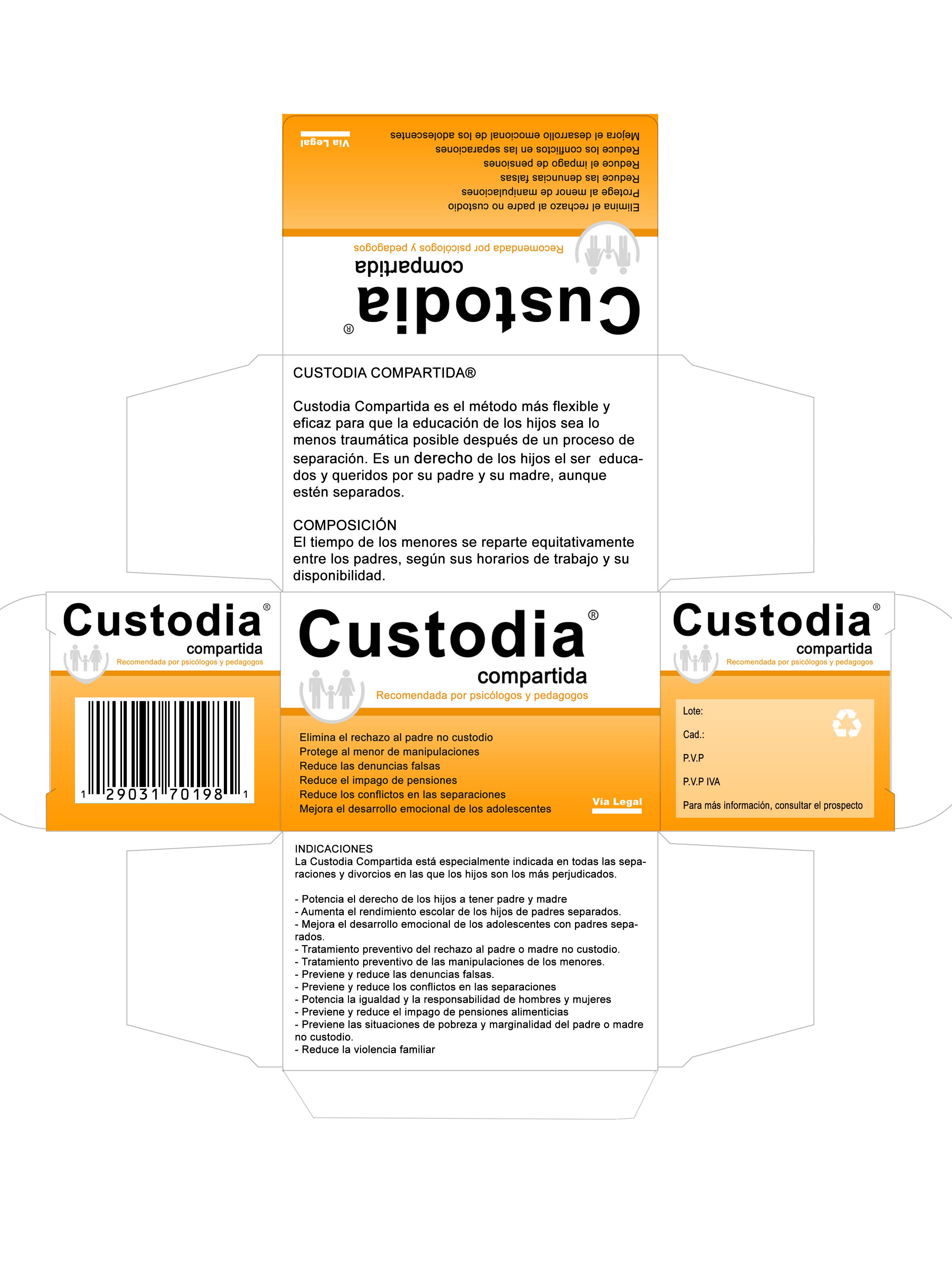 Caja del medicamento Custodia Compartida  Custodia compartida