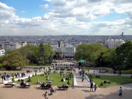 Paris vista do alto
