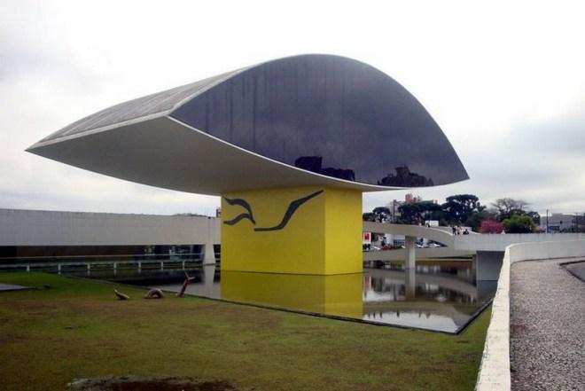 Museu Oscar Niemyer, conhecido como o Museu do Olho