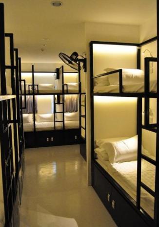 Hostel que nos hospedaremos em Cingapura
