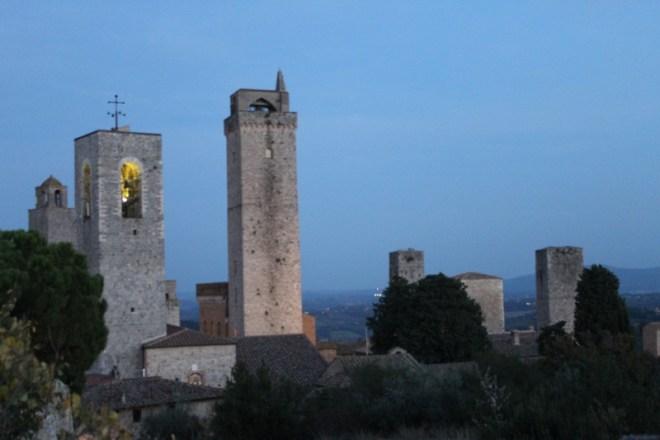 Vista do alto da Rocca di Montestaffoli