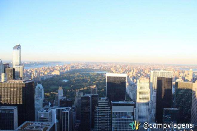 Central Park visto do Top of the Rock