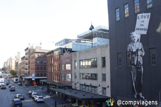 Vista do High Line Park