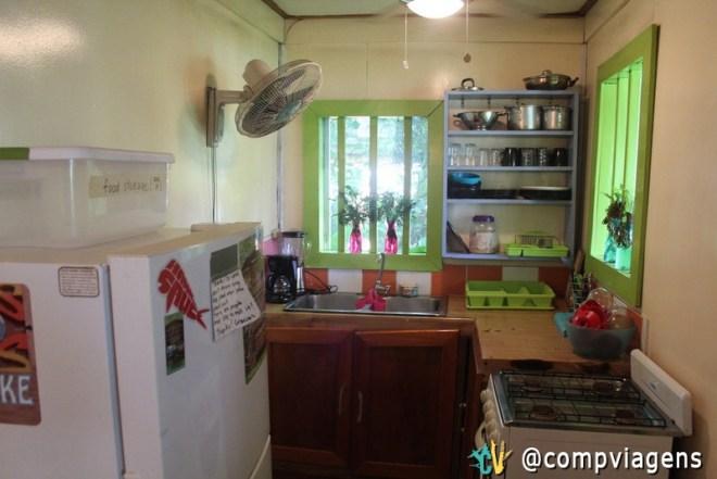 Panama´s Paradise Saigoncito - cozinha