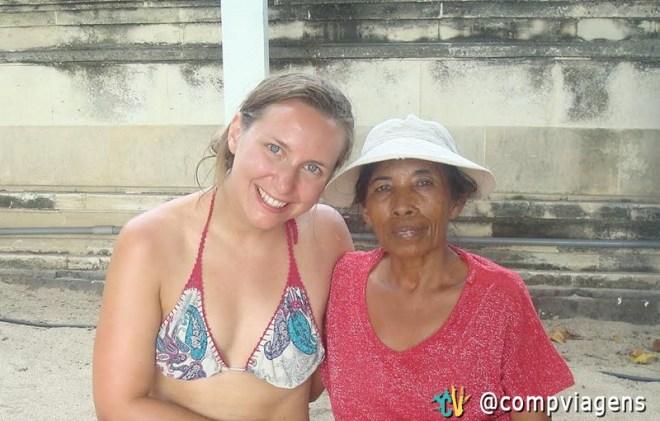 Com a Mama loca em Kuta