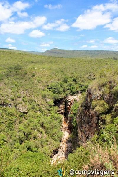 Cachoeira do Mosquito, vista do mirante