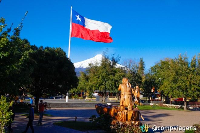 Plaza de Armas de Pucón
