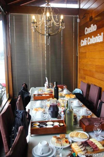 Café Colonial no Coelho, Gramado