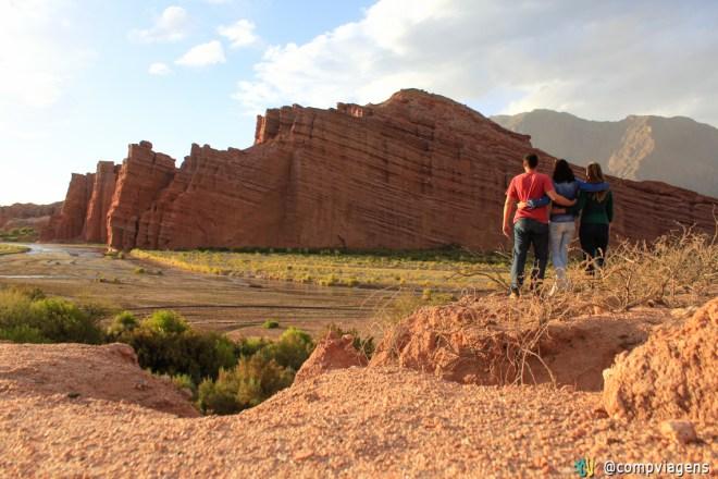 Com Julie e Fred, na região de Salta, Argentina