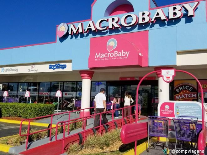 Uma das lojas mais procuradas pelos brasileiros é a Macro Baby. Lá você encontra de tudo, mas é importante comparar os preços para não pagar mais caro.