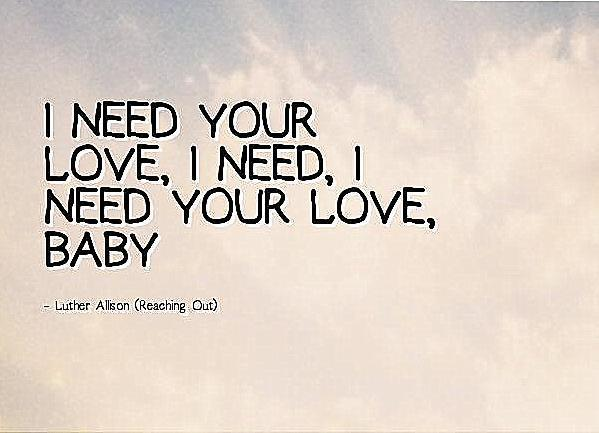 I Need Your Love – Coro 4 voces