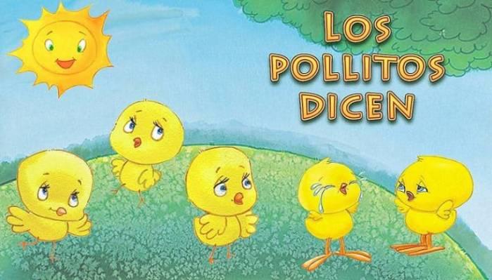 Partitura los pollitos