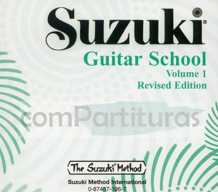 Metodo Suzuki para Guitarra Completo 9 Volúmenes