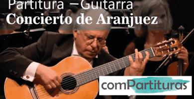 Partitura Concierto de Aranjuez