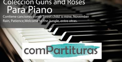 Partituras Guns and roses
