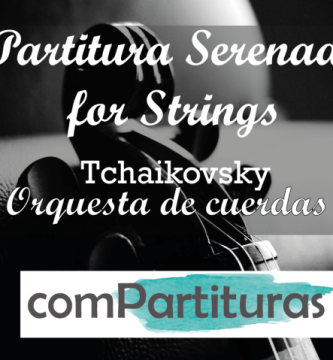 Partitura Serenade for strings