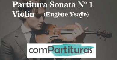 Partitura Sonata N° 1