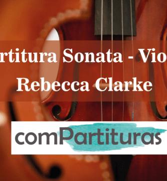 Partitura Sonata Viola