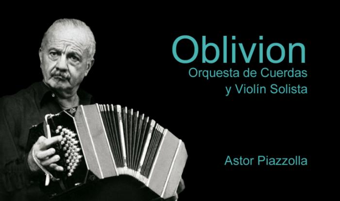 Oblivion (Astor Piazzolla) - Orquesta de cuerdas y violín