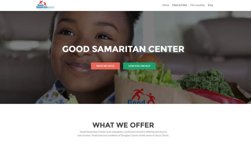 Compass Website Launch: Good Samaritan Center in Douglasville, Georgia
